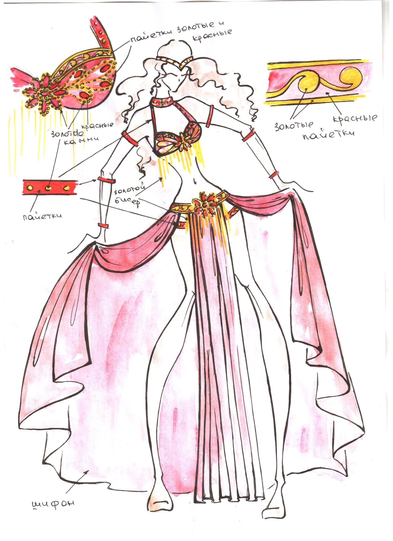Восточный костюм 17000 руб костюм феи