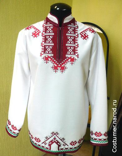Вышивка марийских костюмов