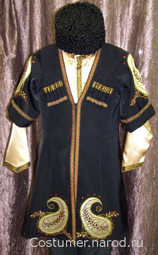 Детский азербайджанский костюм для мальчика