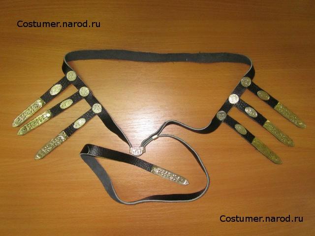 Сшитые у нас кавказские мужские костюмы мы комплектуем поясом из...
