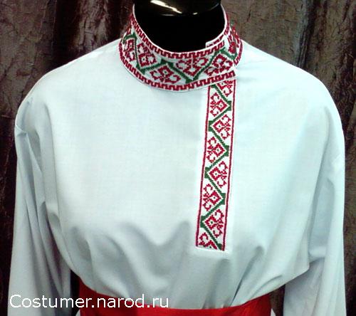 русская народная рубаха мужская