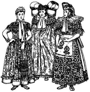 Сшить немецкое национальное женское платье